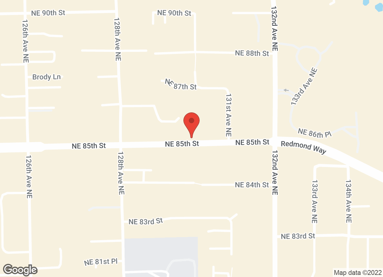 Google Map of VCA Rose Hill Animal Hospital