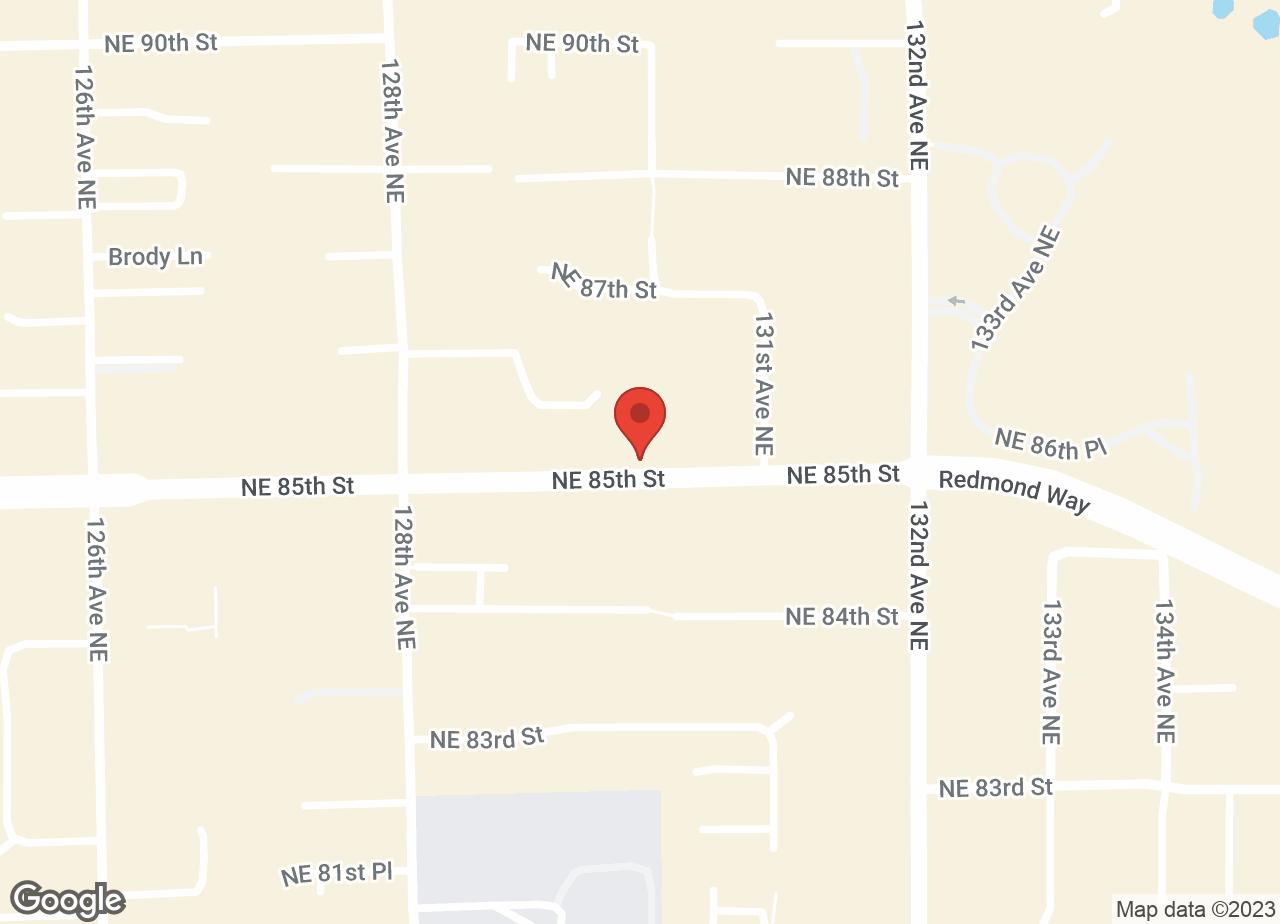 Google Map of VCA Rose Hill Animal Hospital