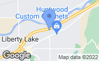 Map of Liberty Lake, WA