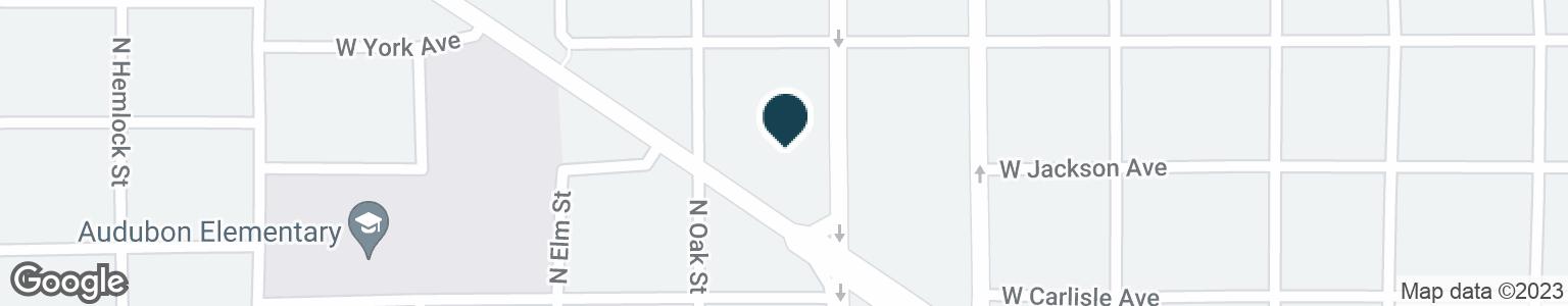 Google Map of1708 W NORTHWEST BLVD