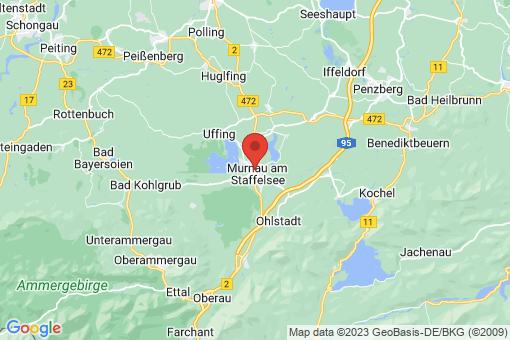 Karte Murnau am Staffelsee