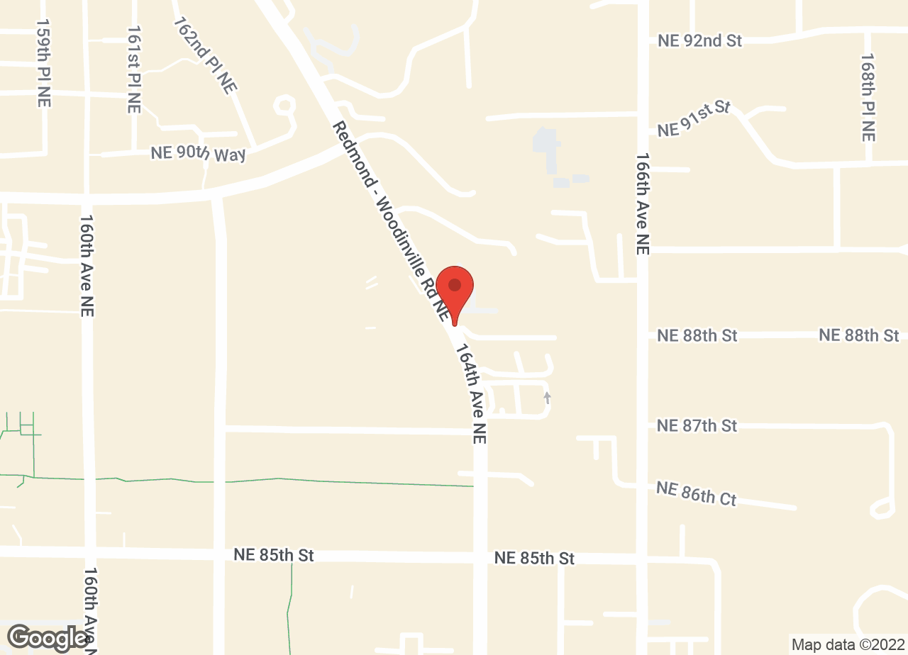 Google Map of VCA Redwood Animal Hospital