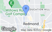 Map of Redmond, WA