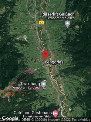 Google Map of Lenggries