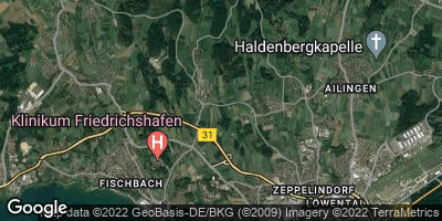 Google Map of Unterraderach