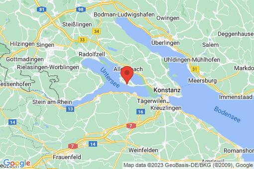 Karte Reichenau