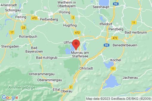 Karte Seehausen am Staffelsee