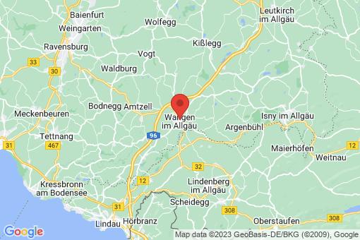Karte Wangen im Allgäu