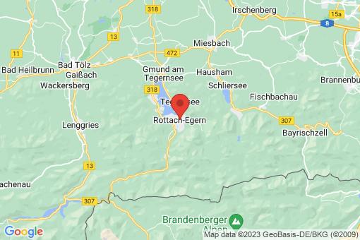 Karte Rottach-Egern