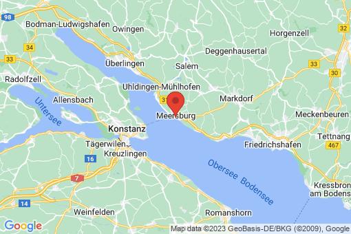 Karte Meersburg