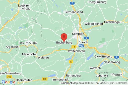 Karte Buchenberg