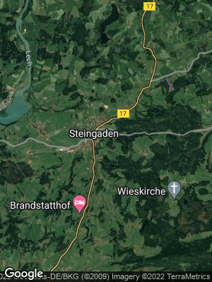 Google Map of Steingaden