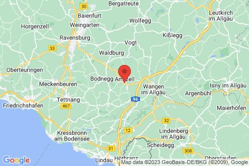 Karte Amtzell