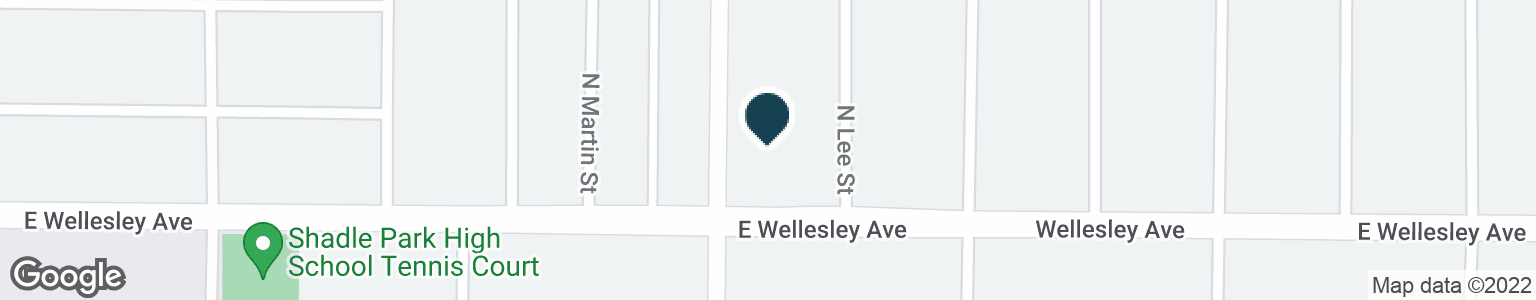 Google Map of2105 E WELLESLEY AVE