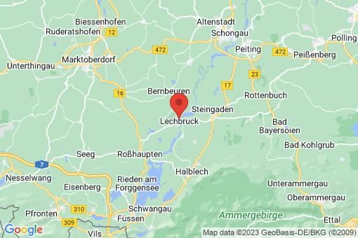Karte Lechbruck