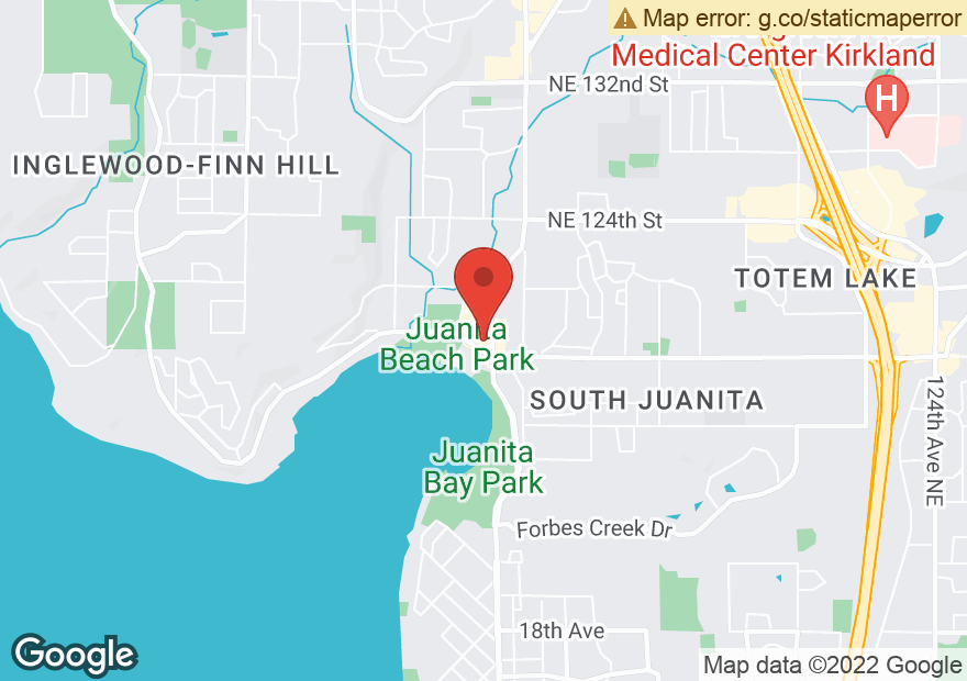 Google Map of 11607 98TH AVE NE