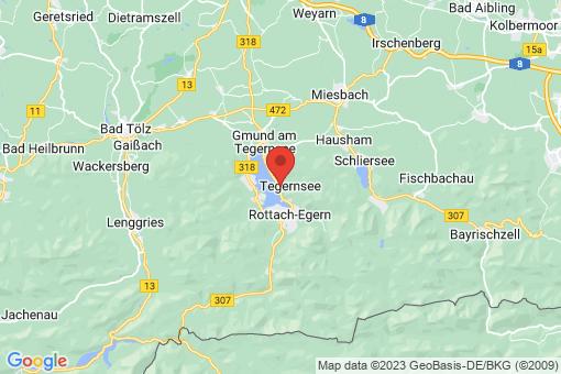Karte Tegernsee