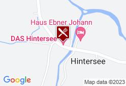 Gasthaus Hintersee - Karte