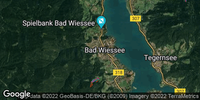 Google Map of Bad Wiessee