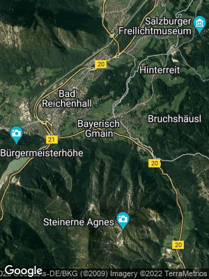 Google Map of Bayerisch Gmain