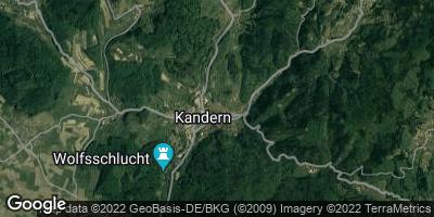 Google Map of Kandern