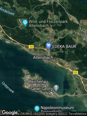 Google Map of Allensbach