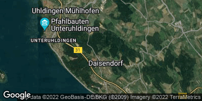 Google Map of Daisendorf