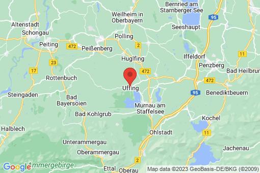 Karte Uffing am Staffelsee