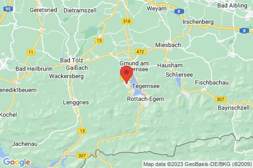 Karte Bad Wiessee