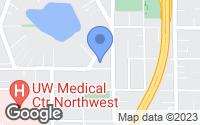 Map of Seattle, WA
