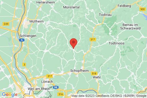 Karte Tegernau
