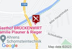 Gasthof Brückenwirt - Karte