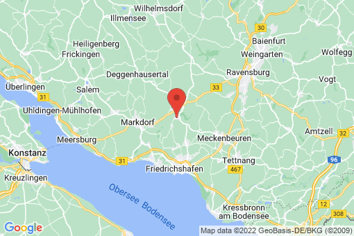 Karte Oberteuringen