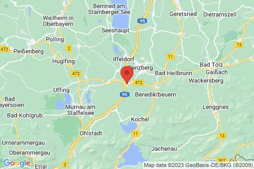 Karte Sindelsdorf