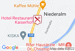 Kaiserhof - Karte