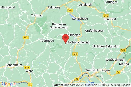 Karte Dachsberg
