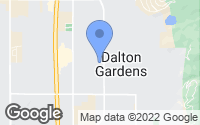 Map of Dalton Gardens, ID