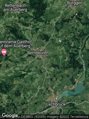 Google Map of Bernbeuren