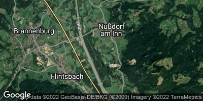 Google Map of Nußdorf am Inn