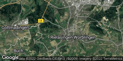 Google Map of Rielasingen-Worblingen