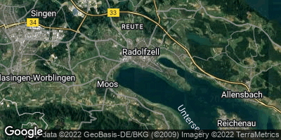 Google Map of Radolfzell am Bodensee