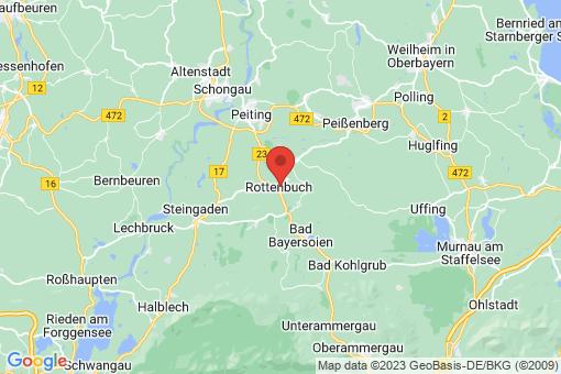 Karte Rottenbuch