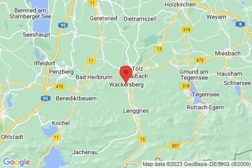 Karte Wackersberg