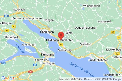 Karte Uhldingen-Mühlhofen