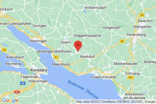 Karte Bermatingen