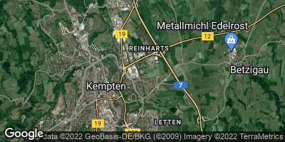 Google Map of Lenzfried