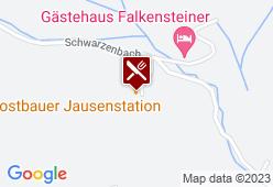 Jausenstation Mostbauer - Karte