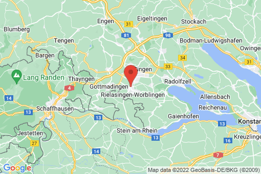 Karte Rielasingen-Worblingen