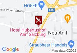 Hotel Hubertushof - Karte