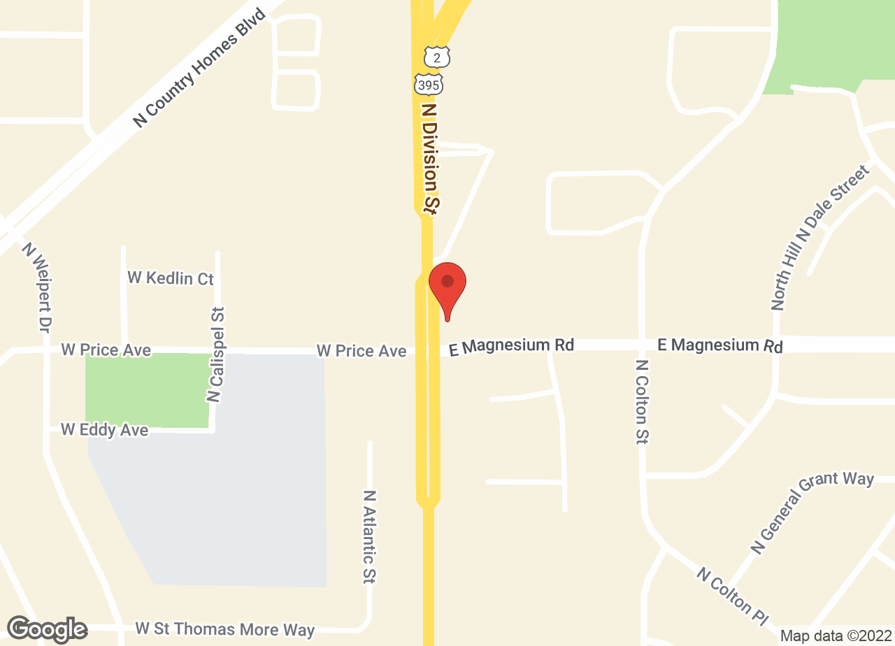 Google Map of VCA North Division Animal Medical Center